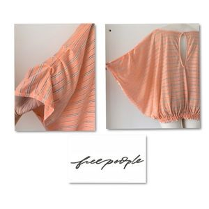 Free People Tops - Free People over sized beach lounge shirt